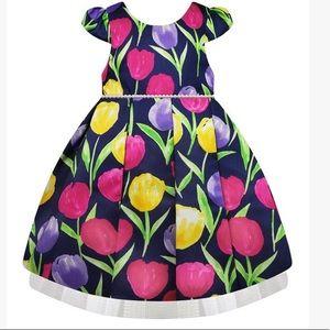 Size 2T American princess dress.